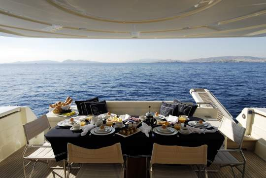 Our Concierge suggests: A night aboard luxury yacht Alexandros