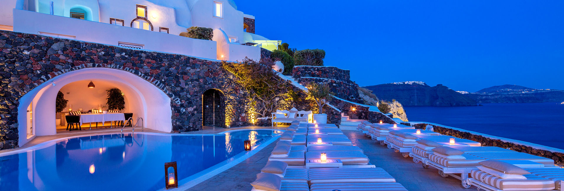 5 Star Hotel In Santorini Canaves Oia Suites